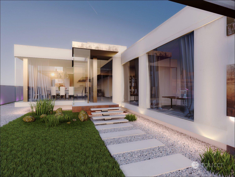 Návrh interiéru rodinnej rezidencie odráža spojenie dvoch dizajnérskych prístupov: východného arabského a stredoeurópskeho talianskeho. Na podklade zemitých…