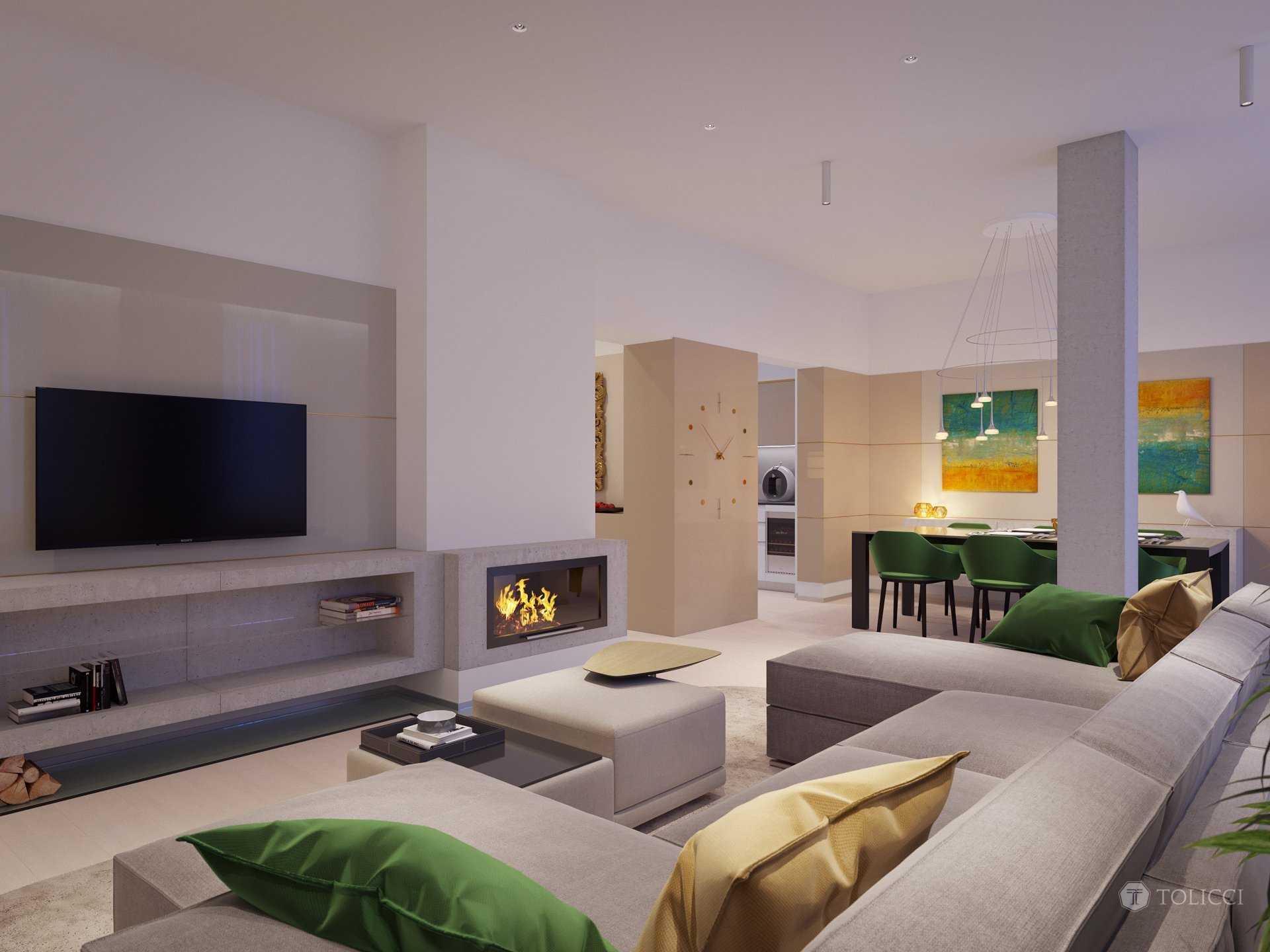 Cieľom návrhu bolo vytvorenie príjemného, moderného interiéru založeného na jemných zemitých prechodoch so zacielením sa na pohodovú atmosféru bývania. Ako…
