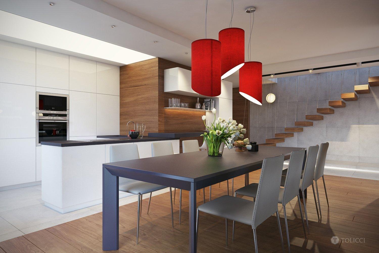 Návrh interiéru rodinnej rezidencie sa nesie na žiadosť klienta v duchu jednoduchých línií a osvedčených farebných kombinácií. Eleganciu sme priestoru dodali…