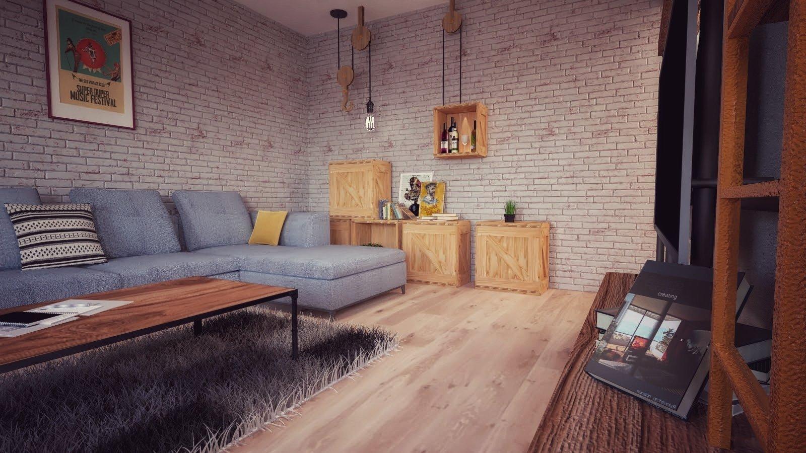 Mladý manželský pár chcel poradiť s riešením bytu.Majú radi industriálny štýl, no zároveň chceli niečo nápadité, niečo čo ľudí prekvapí. Veľa prvkov mali…