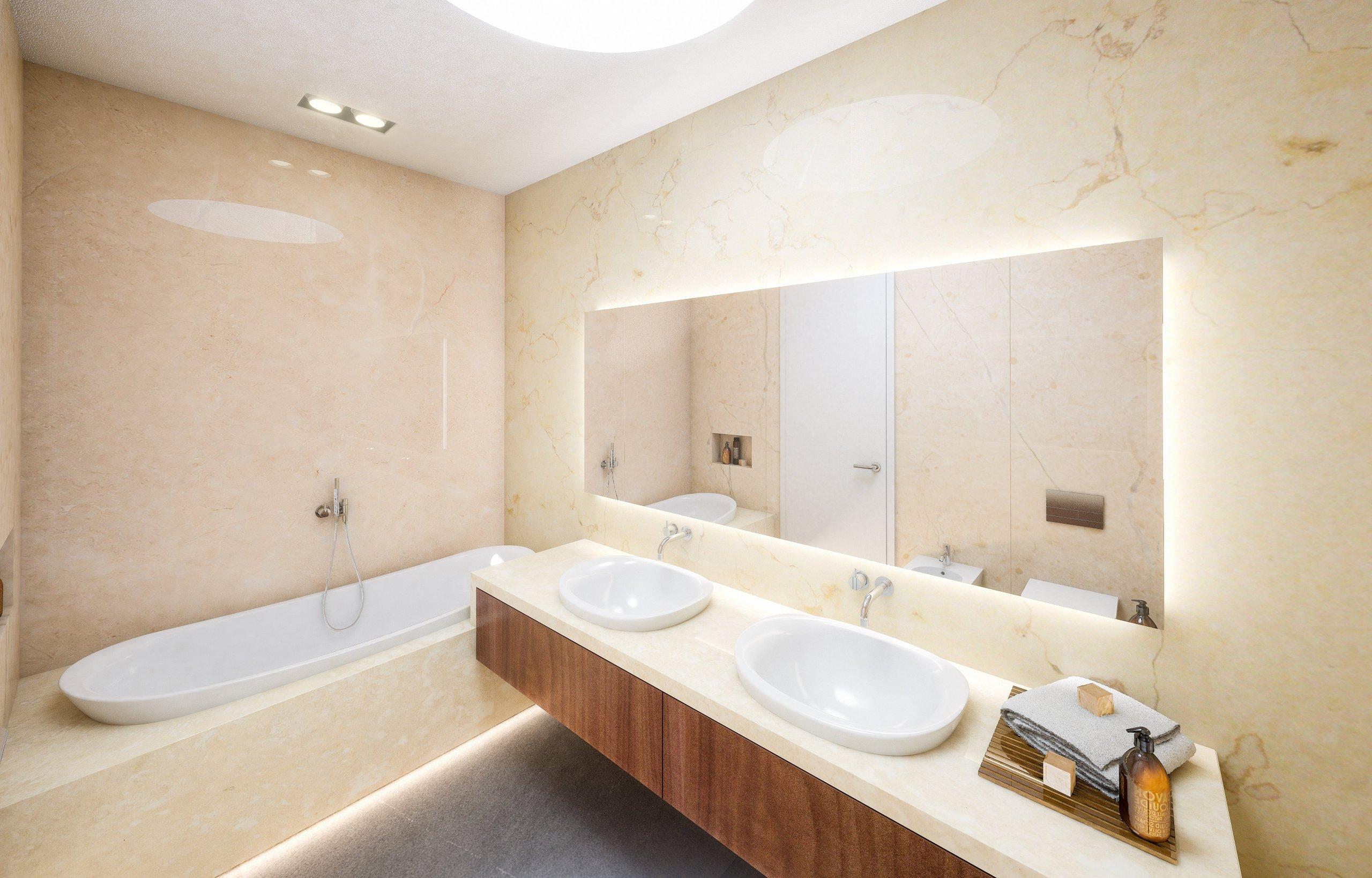 Návrh vzorového interiéru domu projektu 19 rodinných domů Meandry Hostivař předpokládal jisté přehodnocení původního projektu a jeho částečnou úpravu. …