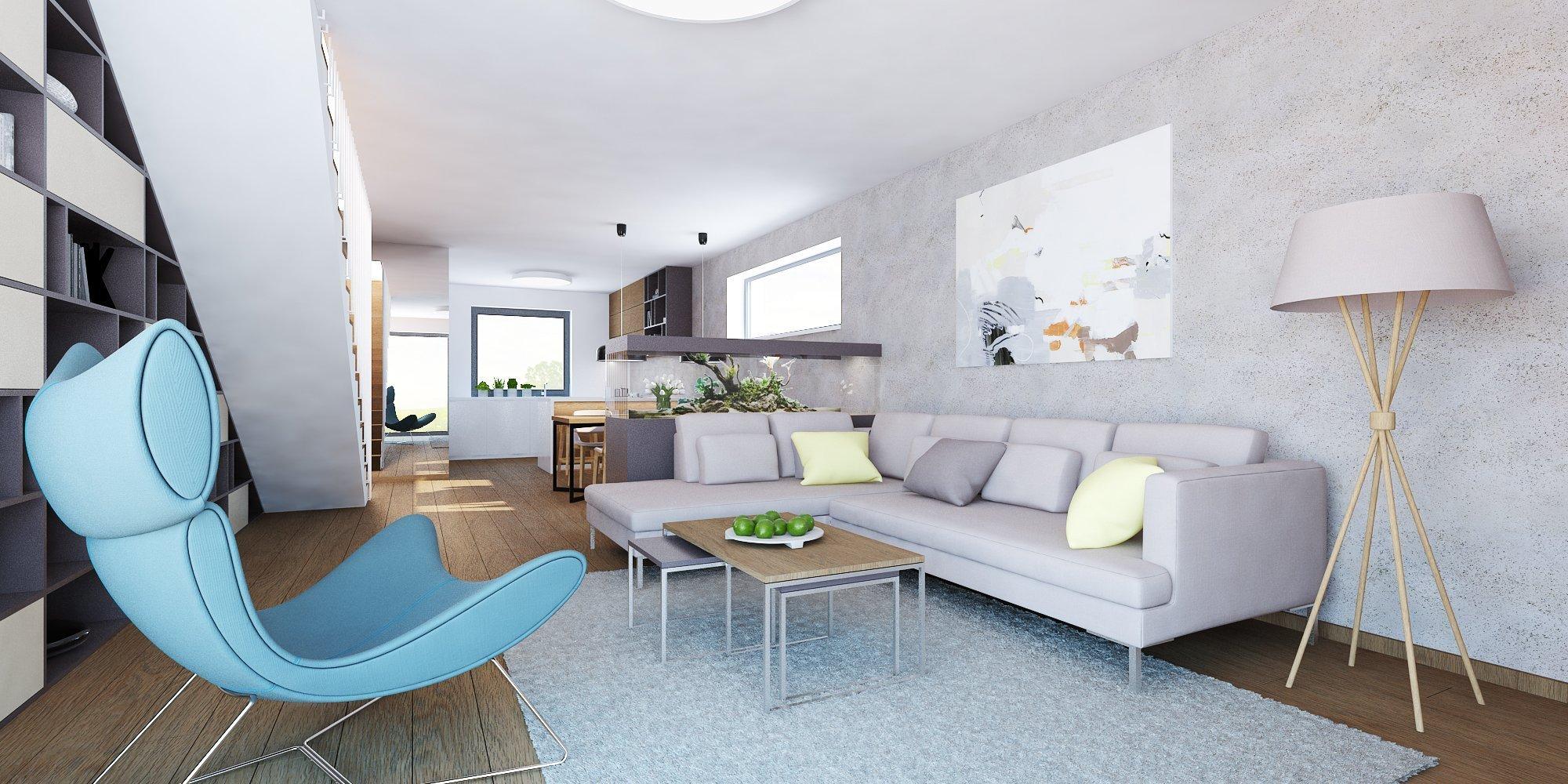 Minimalistický a priestranný interiér rodinného domu v Nitre s originálnymi solitérmi pôsobí harmonicky a čisto. Pri návrhu farebného konceptu sme vychádzali z…