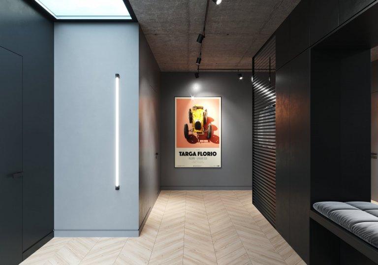 Architekt 2prostory Místo: Praha Rok: 2018 Velikost: 143m²