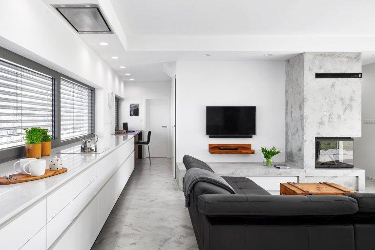 Nádherný dům s luxusními dřevinami