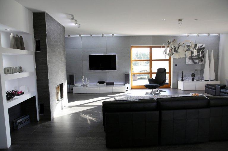 beton v interiéru