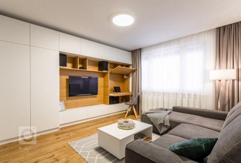 Kompletní rekonstrukce panelového bytu