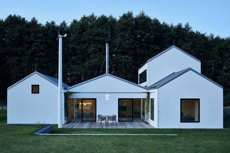 Rodinné sídlo na zelené louce