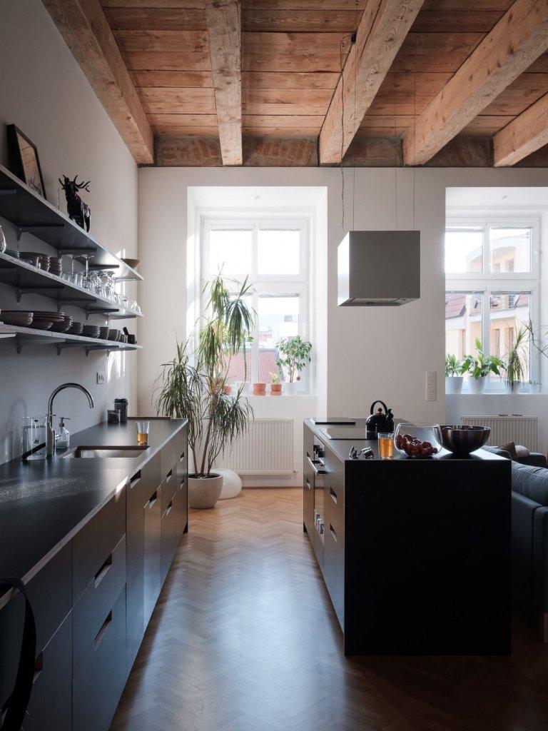 Ze starého fádního bytu vznikl stylový interiér