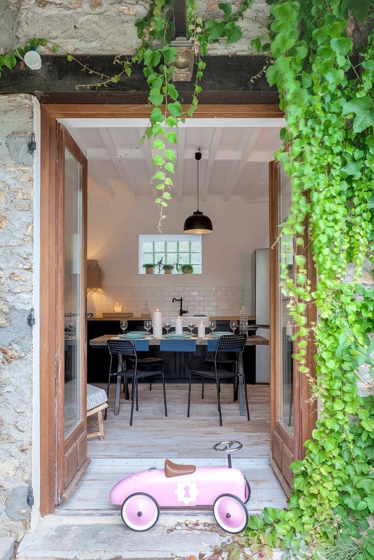 Eklektický interiér domu v Paříži