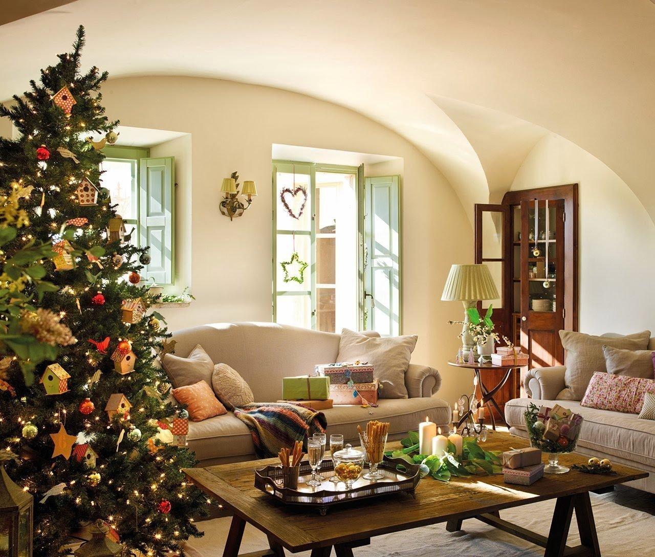 První Vánoce v čerstvě renovované venkovské usedlosti