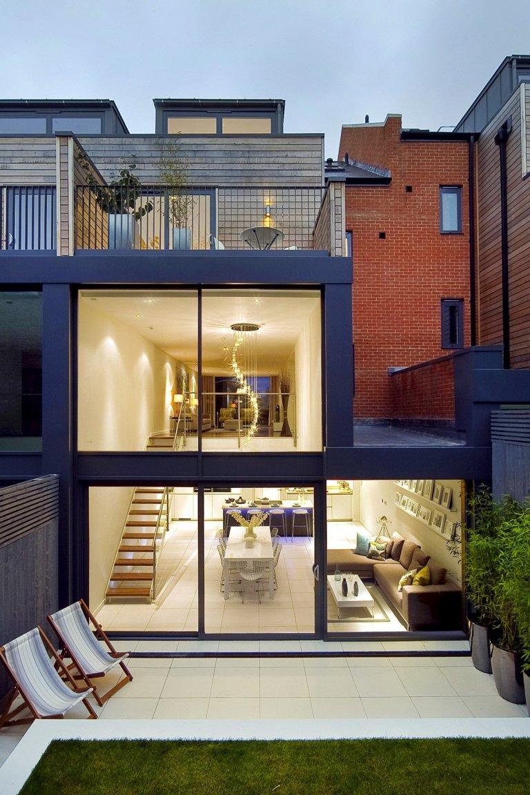 Elegantní interiér domu v Londýně