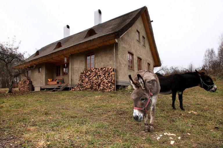 Nízkoenergetický dům ze slámy