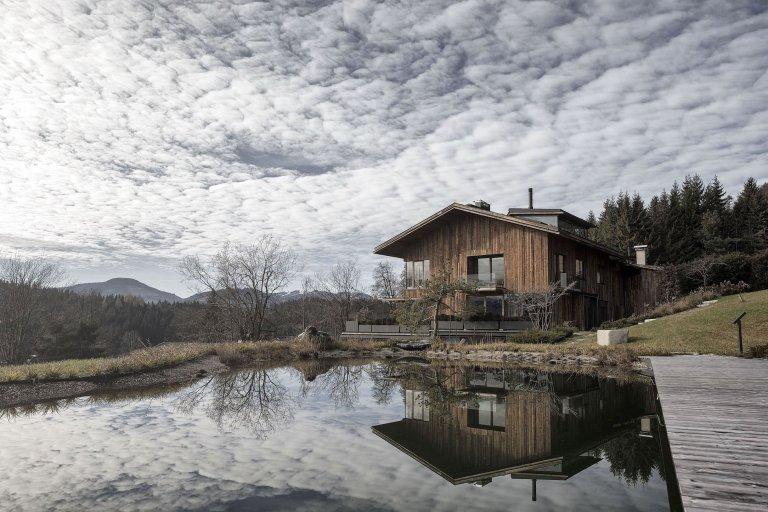 Alpský dům v Rakousku