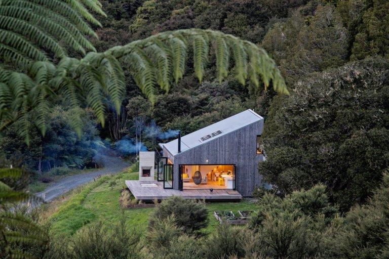 Malá dřevostavba z Nového Zélandu