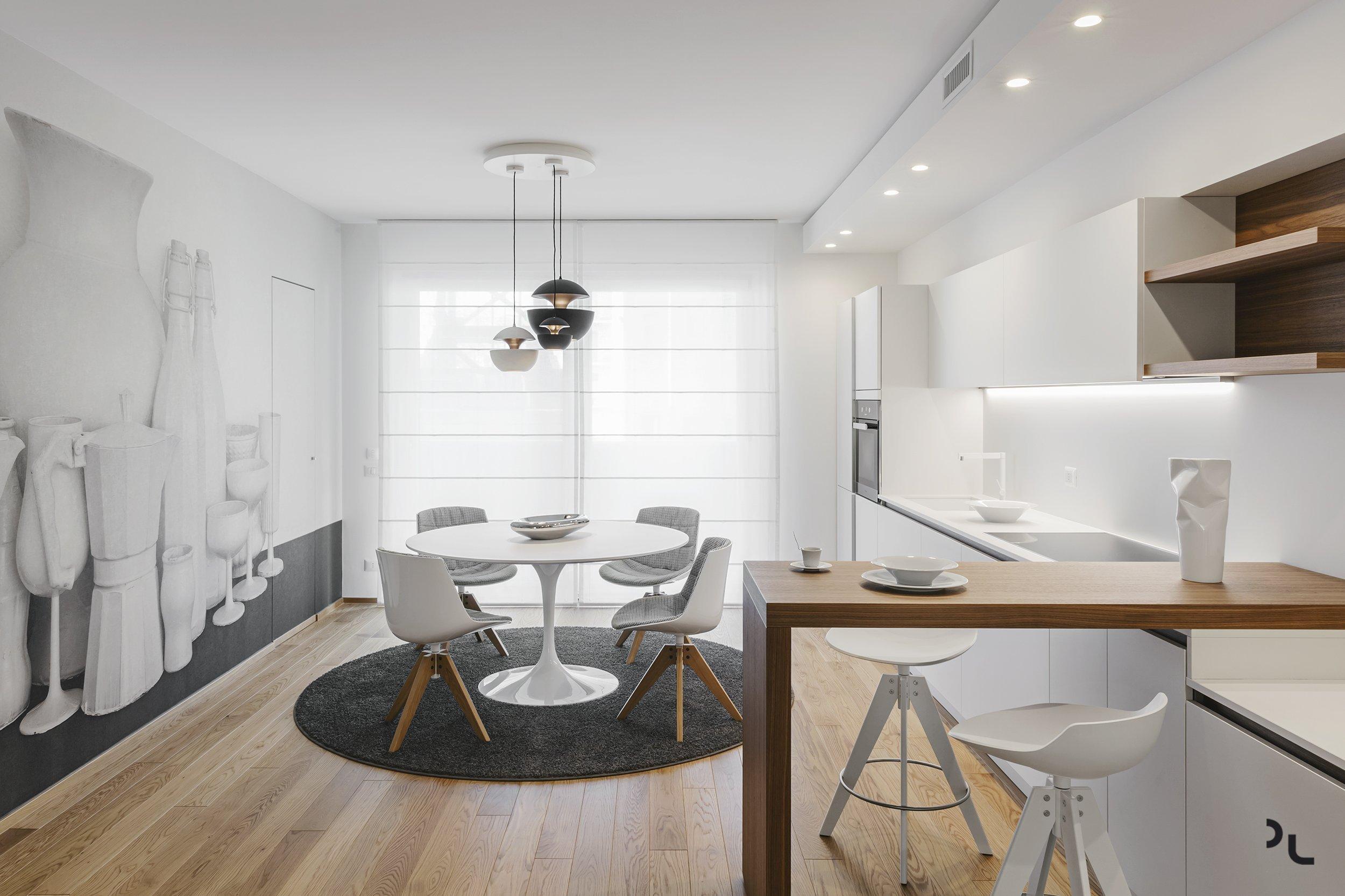 Moderní byt pro mladou rodinu