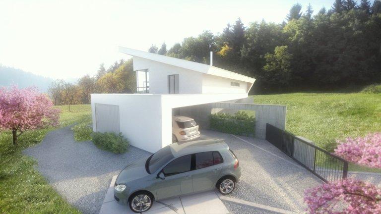 rodinný dom - T house