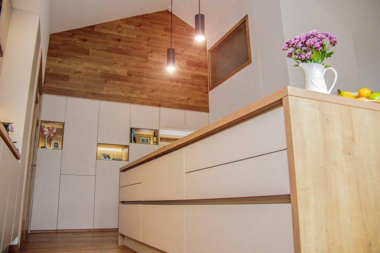Návrh a realizace kuchyně Krásné