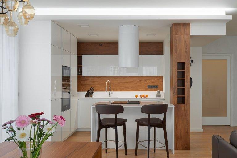 Dock - kuchyň, obývák