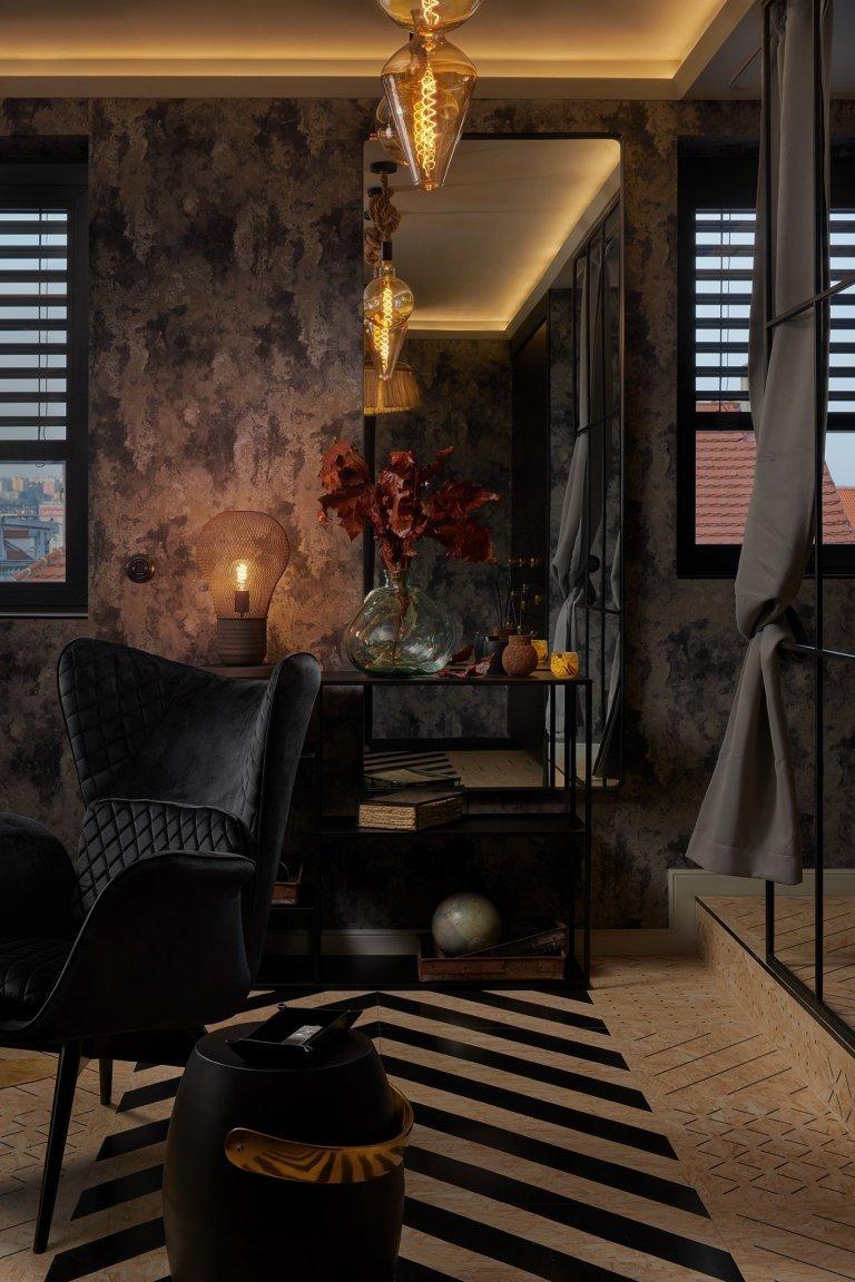 Glamour styl -interiér s nádechem luxusu, do jisté míry jde o určitou extravaganci a odvahu kombinovat historické a umělecké kousky smoderními…