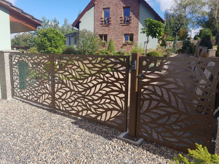 Designová brána 1