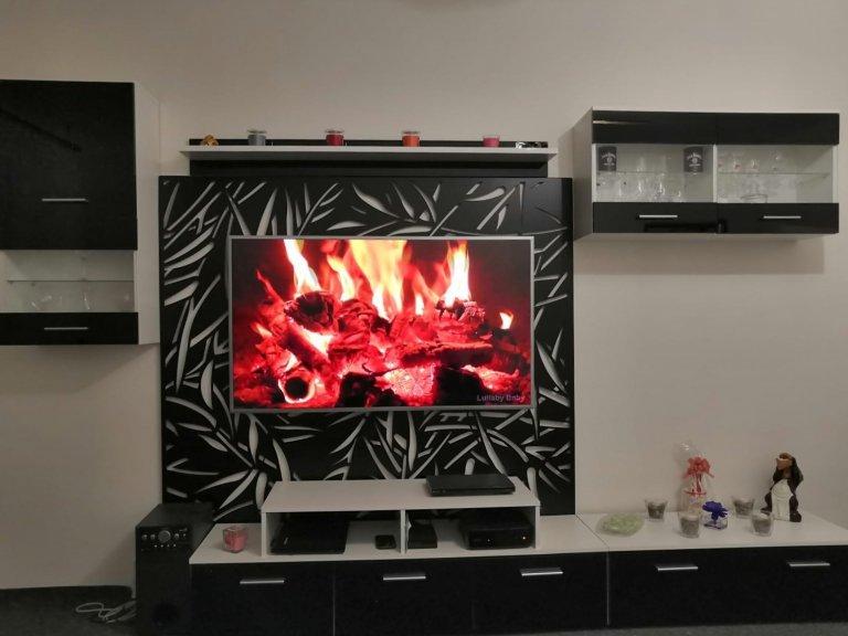 Designový panel na stěnu za TV
