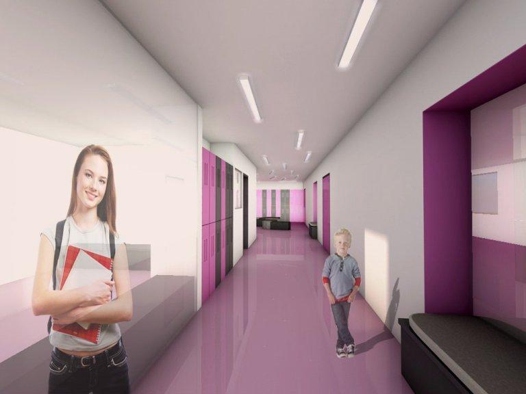Redesign interiéru základní školy