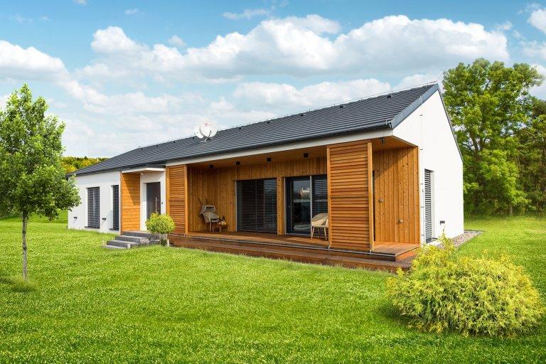 Pollux 129 moderní dřevostavba