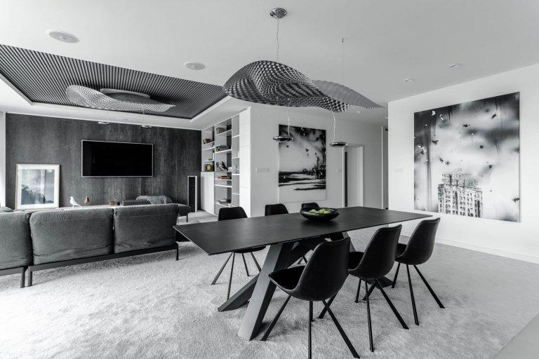 Mezonetový byt pro čtyřčlennou rodinu na bratislavské Kolibě