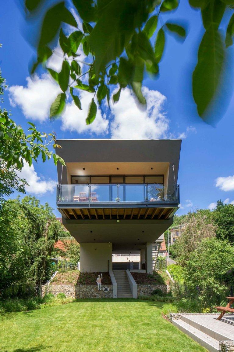 Nízkoenergetický dům v Děvíně: Bezpečný i před povodněmi