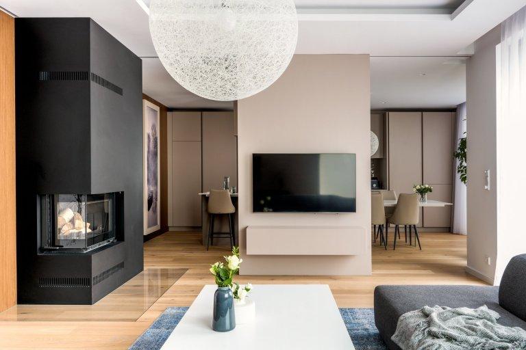 Interiér v novostavbě rodinného domu