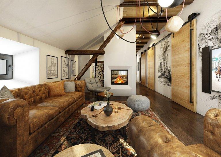 Apartmán ve stodole