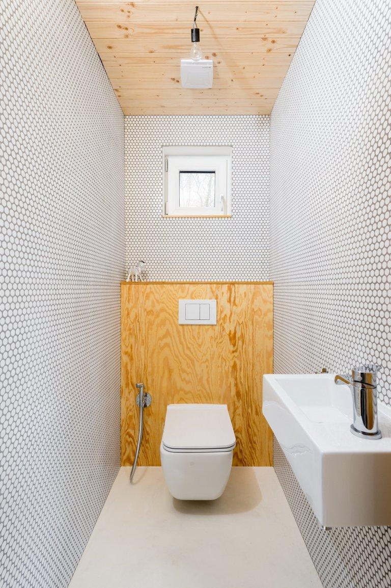Dřevostavba - vznikající interiéry