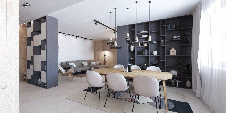Premena nebytového priestoru na nadštandardný byt. Pozrite sa ako sme po masívnej zmene dispozície dokázali z priestoru vyťažiť maximum a vytvorili očarujúci…