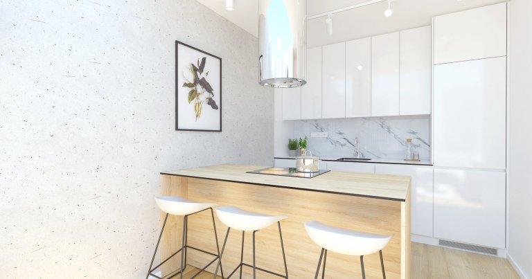 Návrh interiéru bytu v Rezidencia pri Mýte