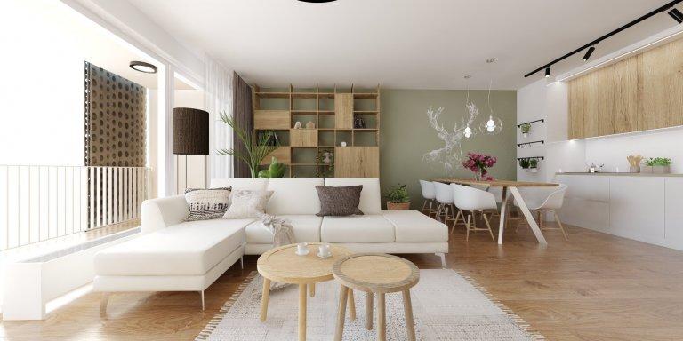Nahliadnite do interiéru bytu s romantickým nádychom, v ktorom aj uprostred hlavného mesta zažijete pohodu vidieka.