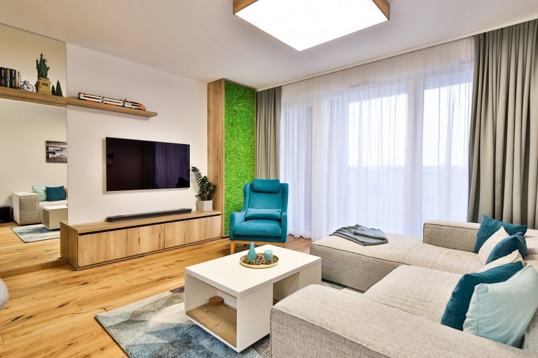 Realizácia 3-izbového bytu v Rezidencie Pri mýte