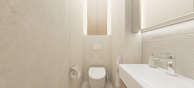 Interiér 2-izbového bytu v Bratislave vyniká konceptom v duchu elegancie, luxusu a zároveň si zachováva útulnú a príjemnú atmosféru