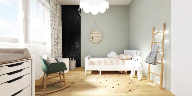 Projekt bytu pre mladú rodinu v novostavbe Blumentál v Bratislave. V návrhu kontrastuje betónová stierka s drevom na bielom podklade. Byt je vzdušný,…