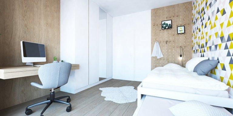 Do zbierky našich interiérov v Slnečniciach pribudol nový byt, v ktorom sme vytvorili plnohodnotné bývanie pre štvorčlennú rodinu. Obľúbený koncept kombinácie…