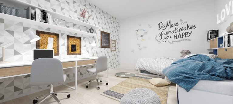 Zrekonštruovaný byt v Ružinove je založený na jednoduchosti, čistote a funkčnosti. Celý koncept je inšpirovaný vzdušným štýlom škandinávskych interiérov, ktoré…