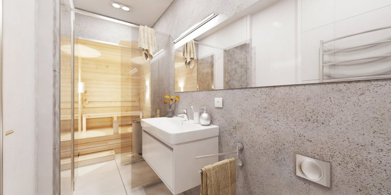 Celý interiér sme koncipovali v minimalistickom štýle, pričom sme kládli dôraz na farebnú a tvarovú jednoduchosť a docielili tým funkčný a nadčasový interiér.…