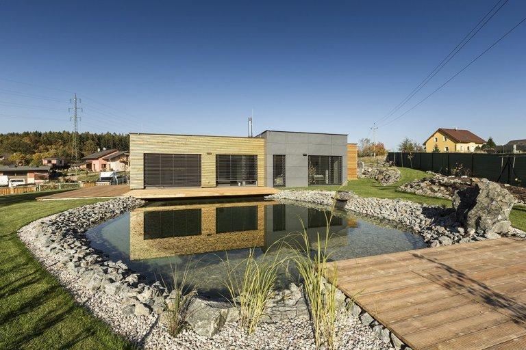 Moderní rodinný dům s garáží
