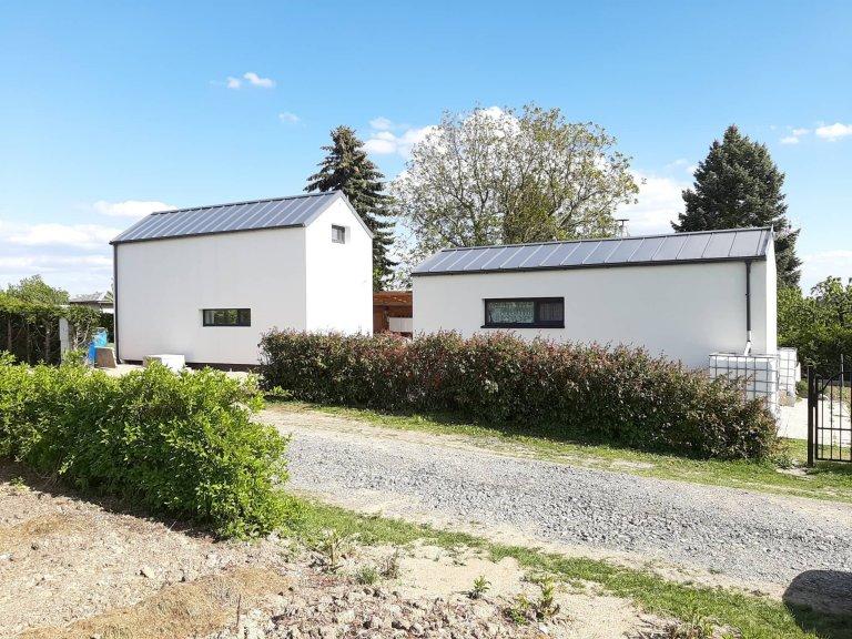 Vyvýšený domek do 25 m2 v Plzni na Švabinách