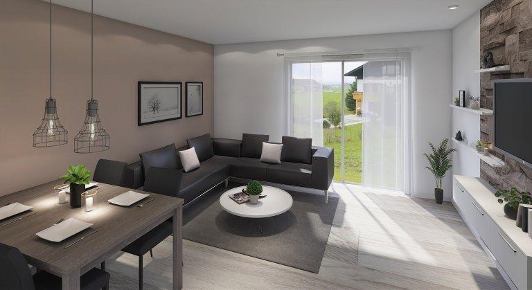 Jednoduchý domek pro menší rodinu nebo pár je navržen tak, aby i na relativně malé podlahové ploše bylo vše potřebné. Svým stylem zapadá do vesnické i městské…
