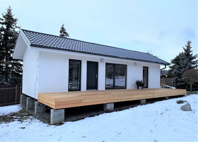 VPlzni - Radobyčicích jsme stavěli naší druhou dřevostavbu v této lokalitě. Po celkem (i díky COVID-u) zdlouhavém stavebním řízení a povolování ČOV…