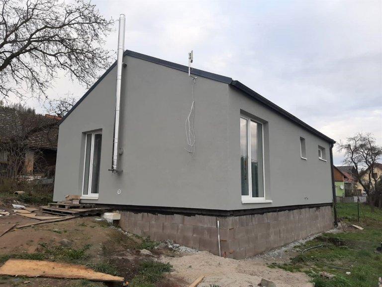 Dřevostavba 69 m2 na Domažlicku