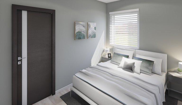 Dřevostavba o rozměrech 12x4m Easy 40– vhodná pro náročnější zákazníky, kteří chtějí více prostoru za nízkou cenu. Levné, přesto kvalitní bydlení.…