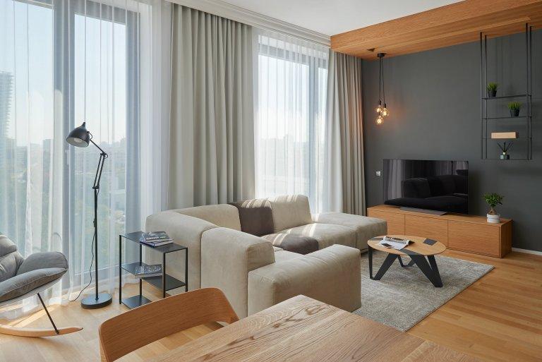 Interiér bytu pro mladého úspěšného muže