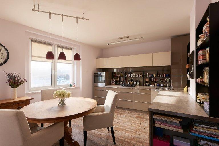 Moderní a přesto útulná kuchyň