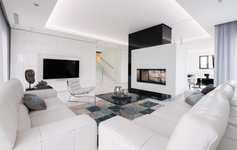 Fascinující moderní interiér